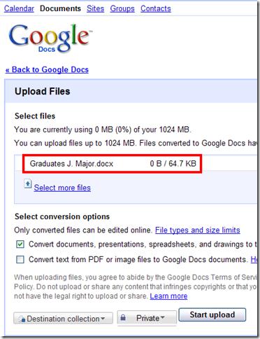 googleapps--upload-marked