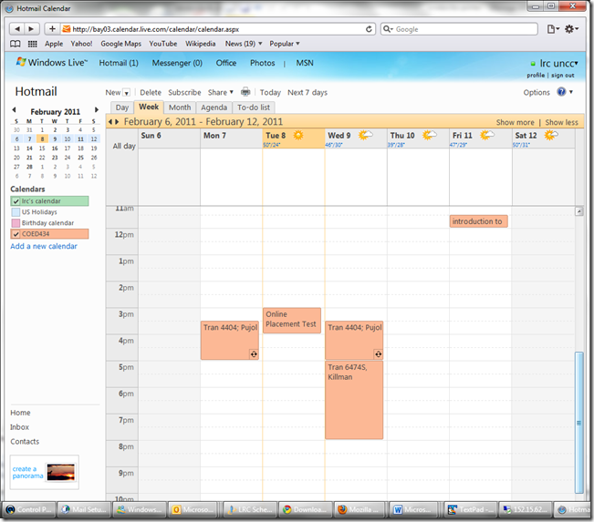 lrc-coed432-calendar-windows-live