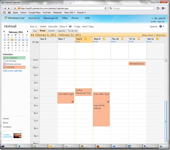 lrc-coed432-calendar-windows-live