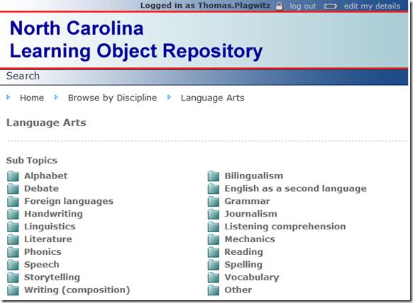 nclor-language-arts