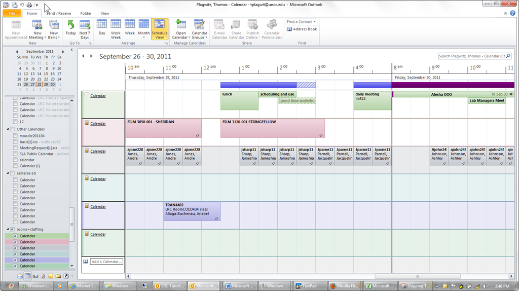 how to create a public shared calendar in outlook 2013