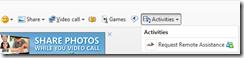 messenger menu bar tools request remote assistance2