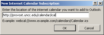Uncc Calendar.How To Load The University Drupal Calendars Into Your Favorite