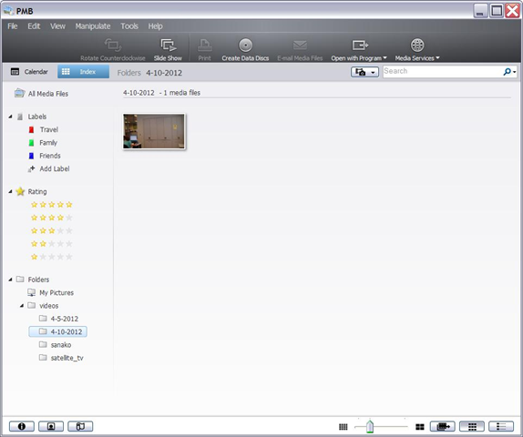 Sony Pmb Windows Xp