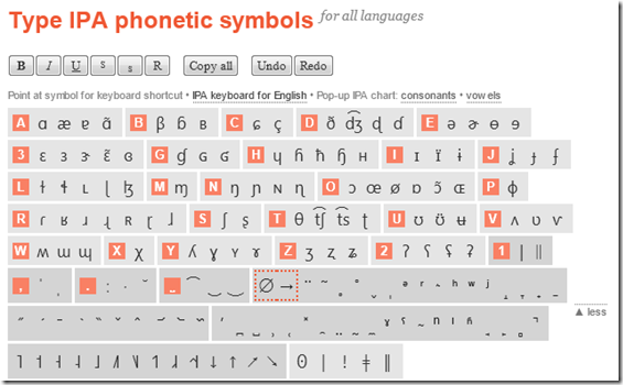 how to type phonetic symbols on a computer