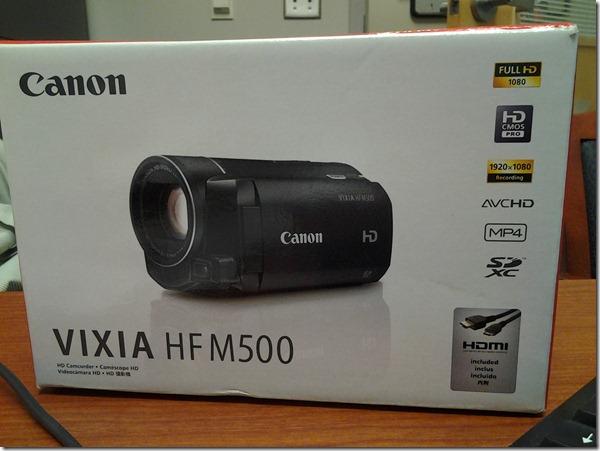 vixia-hfm-500