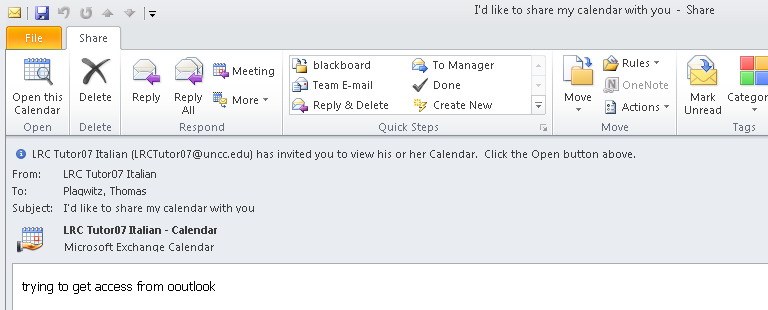 Why do some room calendars refuse to synch in Outlook? | Thomas