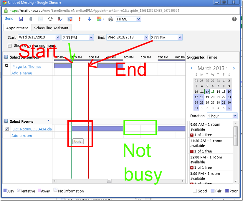 scheduling-assistant busy